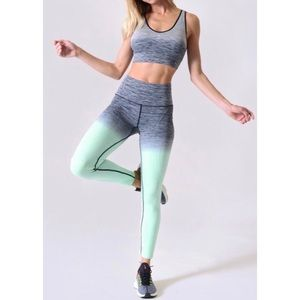 Ombre Faded Athletic Leggings